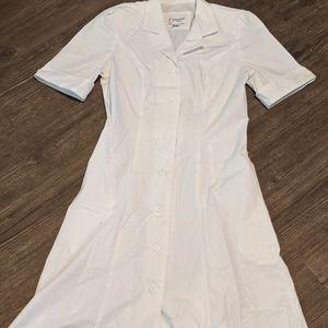 Nursing scrub dress